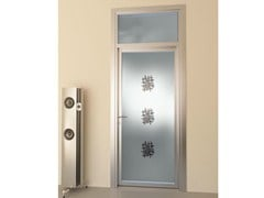 - Swing door with transom FLAT F1 - FOA