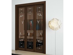 - Three-wing centre split folding door ARIANNA - FOA