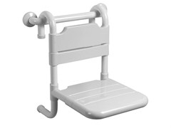 Sedile doccia rimovibile in acciaio zincatoTUBOCOLOR   Sedile doccia - PONTE GIULIO