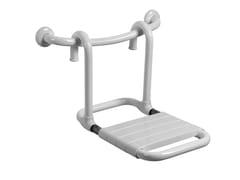 Sedile doccia ribaltabile rimovibile in acciaioMORPHOS | Sedile doccia rimovibile - PONTE GIULIO