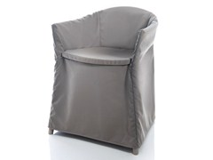 - Solid-color technical fabric chair cover JO HOUSSE - ALMA DESIGN
