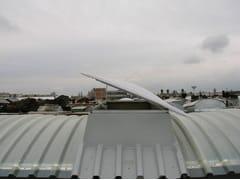 Evacuatore di fumo e calore a ventilazione naturaleEvacuatori fumo e calore GBA - GBA PLASTIK