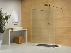 - Rectangular crystal shower cabin LIBERO 4000 - DUKA