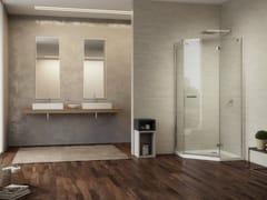 - Corner crystal shower cabin GALLERY 3000 - DUKA