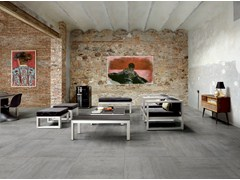 - Porcelain stoneware wall/floor tiles LINK SLATE GREY - CERAMICHE KEOPE