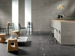 - Porcelain stoneware wall/floor tiles LINK DARK SHADOW - CERAMICHE KEOPE