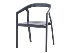 - Wooden chair with armrests ONE | Chair with armrests - TON