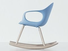 - Rocking polyurethane chair ELEPHANT ROCKING | Polyurethane chair - Kristalia