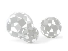- Steel table lamp / floor lamp DANCING SQUARE LAMP - Specimen Editions