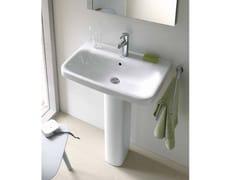 - Pedestal ceramic washbasin DURASTYLE | Pedestal washbasin - DURAVIT