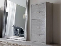 - Free standing wooden chest of drawers KEOPE - CorteZari