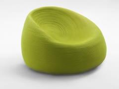 - Garden armchair with removable cover OTTO | Garden armchair - Paola Lenti