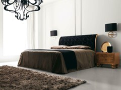 - Double bed with upholstered headboard KEOPE - CorteZari