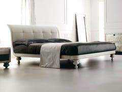 - Leather double bed KEOPE II - CorteZari
