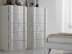 - Lacquered chest of drawers LEON - CorteZari