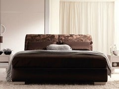- Leather double bed LAPO II - CorteZari