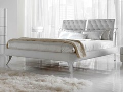 - Double bed with upholstered headboard ARKA - CorteZari