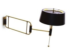 Adjustable wall lamp with swing arm MILES | Wall lamp - Delightfull