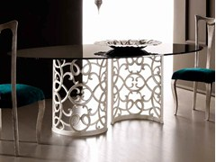- Oval dining table FLORA - CorteZari