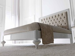 - Double bed with upholstered headboard LINDA - CorteZari