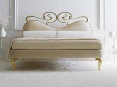 - Double bed with upholstered headboard MAYA - CorteZari