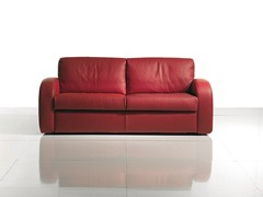 - 2 seater leather sofa bed SIMPLY CLASSIC - BODEMA