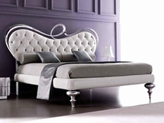- Double bed with upholstered headboard ROMEO - CorteZari