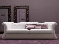 - 3 seater leather sofa PASCAL - CorteZari