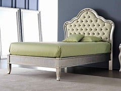 - Full size bed with upholstered headboard GEMMA - CorteZari
