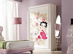 - Wooden wardrobe for kids' bedrooms CLARA - CorteZari