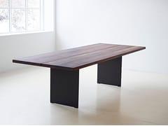 - Extending walnut table DK3_3 TABLE   Walnut table - dk3