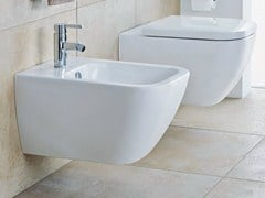 - Wall-hung ceramic bidet HAPPY D.2 | Wall-hung bidet - DURAVIT
