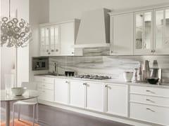 Cucina laccata lineare con maniglieAVENUE | Cucina laccata - ASTER CUCINE S.P.A.