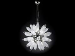 - Glass pendant lamp FLO | Pendant lamp - Metal Lux di Baccega R. & C.