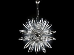 - Mirrored glass pendant lamp FLO | Pendant lamp - Metal Lux di Baccega R. & C.
