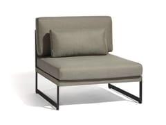 - Batyline® garden armchair SQUAT | Garden armchair - MANUTTI