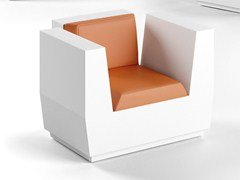- Garden armchair with armrests BIG CUT | Armchair - PLUST Collection by euro3plast