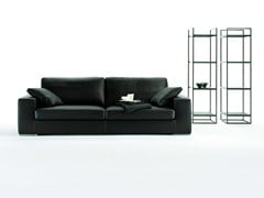 - 3 seater leather sofa AUKLAND | Leather sofa - Giulio Marelli Italia