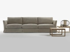 - 4 seater fabric sofa with removable cover BELLAGIO | 4 seater sofa - Giulio Marelli Italia