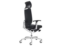 - Executive chair with 5-spoke base with headrest SPIRIT | Executive chair - SitLand