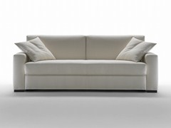 - 3 seater fabric sofa bed with removable cover DREAM | Sofa bed - Giulio Marelli Italia