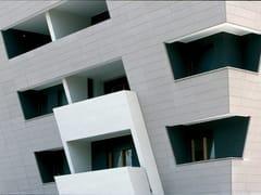 Sistema per facciata in cemento fibrorinforzato e isolantePIZ - PIZ
