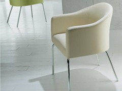 - Upholstered fabric easy chair with armrests MISTRAL | Easy chair - Riccardo Rivoli Design