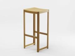 - Wooden stool SELERI | High stool - Zilio Aldo & C.