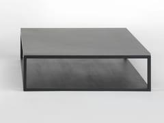 - Low square oak coffee table STONE | Low coffee table - Giulio Marelli Italia