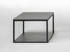 - Square oak coffee table STONE | Coffee table - Giulio Marelli Italia
