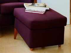 - Upholstered fabric pouf KENT | Fabric pouf - Giulio Marelli Italia