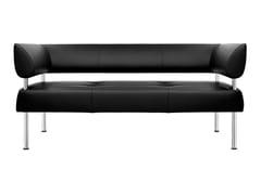 - 3 seater steel sofa BUSINESS CLASS   Sofa - SitLand