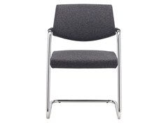 - Cantilever visitor's chair with Armrests PASSE-PARTOUT | Cantilever chair - SitLand