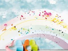 - Wallpaper RAINBOW - Moustache
